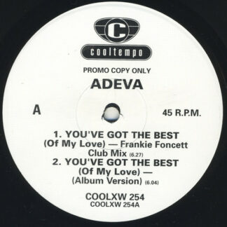 "Adeva - You've Got The Best (Of My Love) (12"", Promo)"