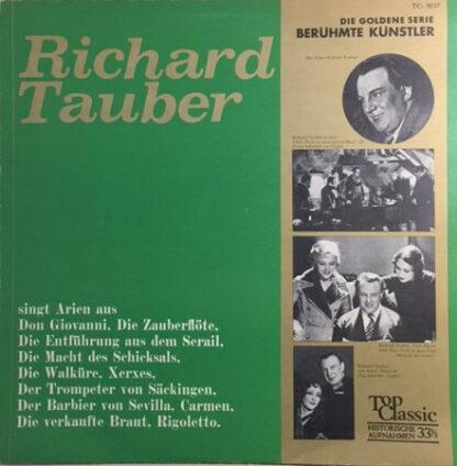Richard Tauber - Richard Tauber Singt Arien (LP, Comp)