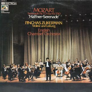 """Mozart*, Pinchas Zukerman, English Chamber Orchestra - Serenade Nr.7 D-Dur KV 250 """"Haffner-Serenade"""" (LP, Album, Club)"""