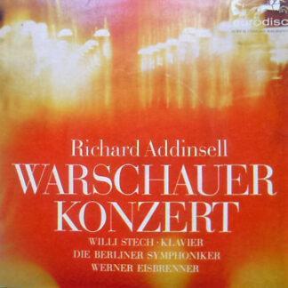 """Richard Addinsell, Willi Stech, Die Berliner Symphoniker*, Werner Eisbrenner - Warschauer Konzert (7"""", Single)"""