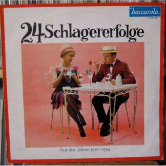 Various - Deutsche Schlager-Rallye - 20 Super-Renner (LP, Comp)