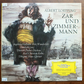 Albert Lortzing - Zar Und Zimmermann (LP)