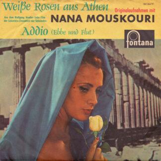 """Nana Mouskouri - Weiße Rosen Aus Athen (7"""", Single, Mono)"""
