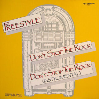 """Freestyle - Don't Stop The Rock (12"""", Glo)"""
