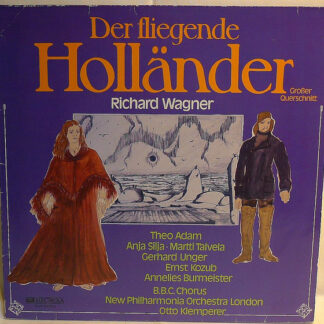 """Wagner*, New Philharmonia Orchestra, Otto Klemperer - Highlights From """"The Flying Dutchman"""" (LP, Club, RE)"""