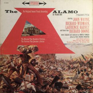 Dimitri Tiomkin - The Alamo (In Todd-AO) (LP, Album, RE, 2Ey)