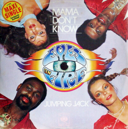 "Eyes On Fire - Mama Don't Know / Jumping Jack (12"", Maxi, Ltd)"