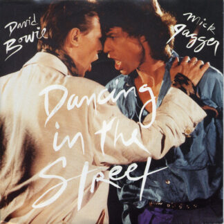"""David Bowie And Mick Jagger - Dancing In The Street (7"""", Single)"""