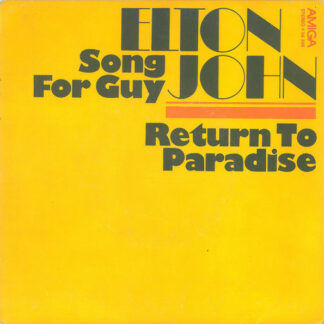 "Elton John - Song For Guy / Return To Paradise (7"", Single)"