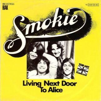 """Smokie - Living Next Door To Alice (7"""", Single, TEL)"""