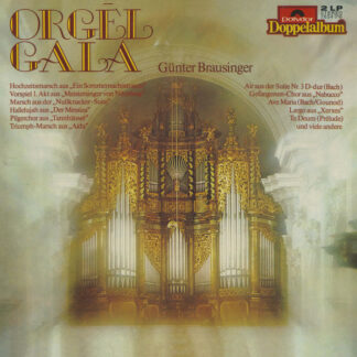 Günther Brausinger - Orgel Gala (2xLP)