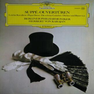 Suppé* - Berliner Philharmoniker, Herbert von Karajan - Ouvertüren - Leichte Kavallerie·Pique Dame·Die Schöne Galathée·Dichter Und Bauer U.A. (LP, Album)