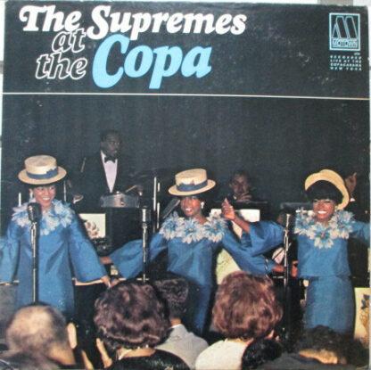 The Supremes - At The Copa (LP, Album, Mono)