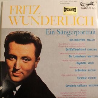 """Fritz Wunderlich - Ein Sängerportrait (10"""", S/Edition)"""