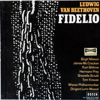 Beethoven*, Nilsson* · McCracken*, Krause* · Prey*, Vienna Philharmonic*, Maazel* - Fidelio (2xLP, Album + Box)