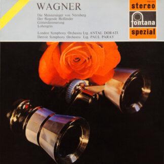Wagner*, London Symphony Orchestra*, Antal Dorati, Detroit Symphony Orchestra, Paul Paray - Die Meistersinger Von Nürnberg, Der Fliegende Holländer, Götterdämmerung, Lohengrin (LP, Comp)