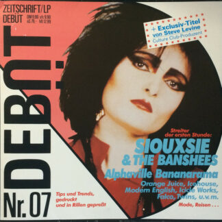 Various - Debüt LP / Zeitschrift Ausgabe 7 (Nr. 07) (LP, Comp)