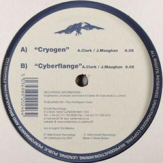 "Elementz Of Noize - Cryogen / Cyberflange (12"")"