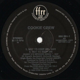 "Cookie Crew* - Got To Keep On (12"", Promo)"
