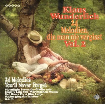 Klaus Wunderlich - 24 Melodien, Die Man Nie Vergisst Vol. 2 (LP, RE)