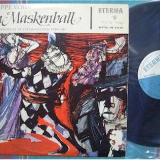 Verdi*, Orchestra Sinfonica E Coro Della RAI di Torino*, Maria Curtis Verna, Ferruccio Tagliavini - Ein Maskenball - Opernquerschnitt In Italienischer Sprache (LP, Mono)