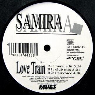 """Samira - Love Train (12"""")"""
