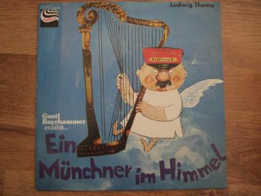 Ludwig Thoma - Ein Münchner Im Himmel (LP, Album)