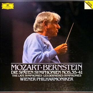 Mozart*, Bernstein*, Wiener Philharmoniker - Die Späten Symphonien Nos. 35-41 (3xLP, Comp, Dig + Box)