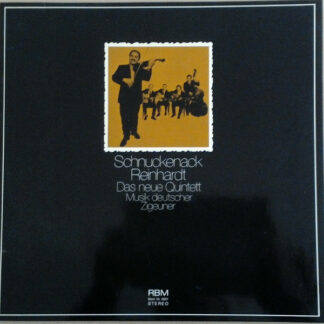 Schnuckenack Reinhardt Das Neue Quintett* - Musik Deutscher Zigeuner (LP, Album, Gat)