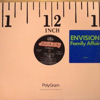 "Envision (2) - Family Affair (12"", Promo)"