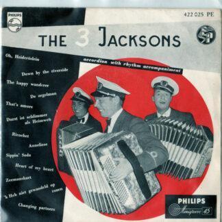 "The 3 Jacksons - Accordion With Rhythm Accompaniment (7"", EP)"