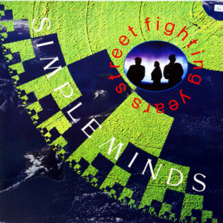Simple Minds - Street Fighting Years (LP, Album, Gat)