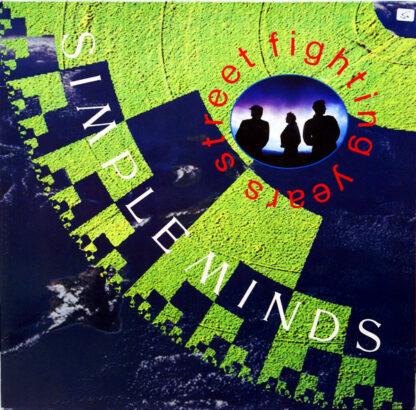 Simple Minds - Street Fighting Years (LP, Album, Gat)