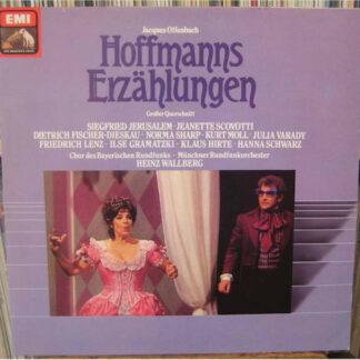 Jacques Offenbach - Hoffmanns Erzählungen - Großer Querschnitt In Deutscher Sprache (LP, Club)