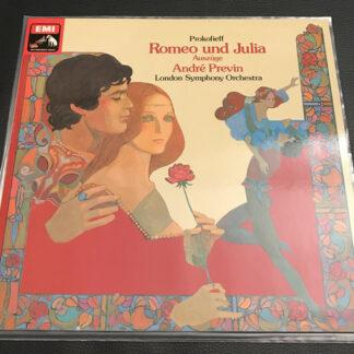 Serge Prokofieff*, André Previn, The London Symphony Orchestra - Romeo Und Julia Op. 64 - Auszüge Aus Dem Ballett (LP, Album)
