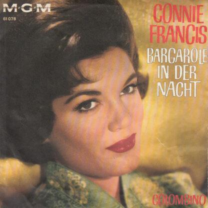 "Connie Francis - Barcarole In Der Nacht (7"", Single, Mono)"